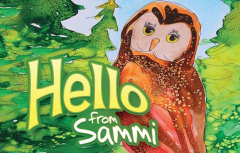 Book Cover Hello from Sammi